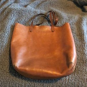 Madewell Messenger Tote Brown